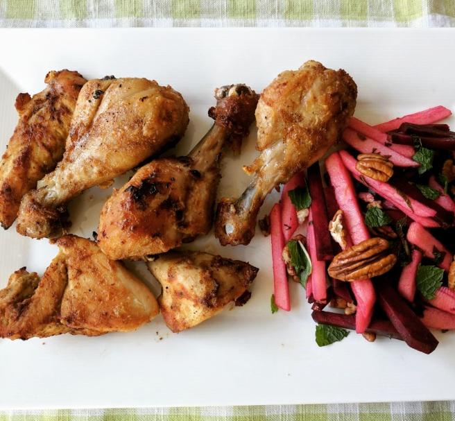 Cumin spiced grilled chicken